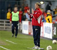 Fotball, 28. april 2004, Privatlandskamp, Norge-Russland 3-2, Åge Hareide , Norge, trener