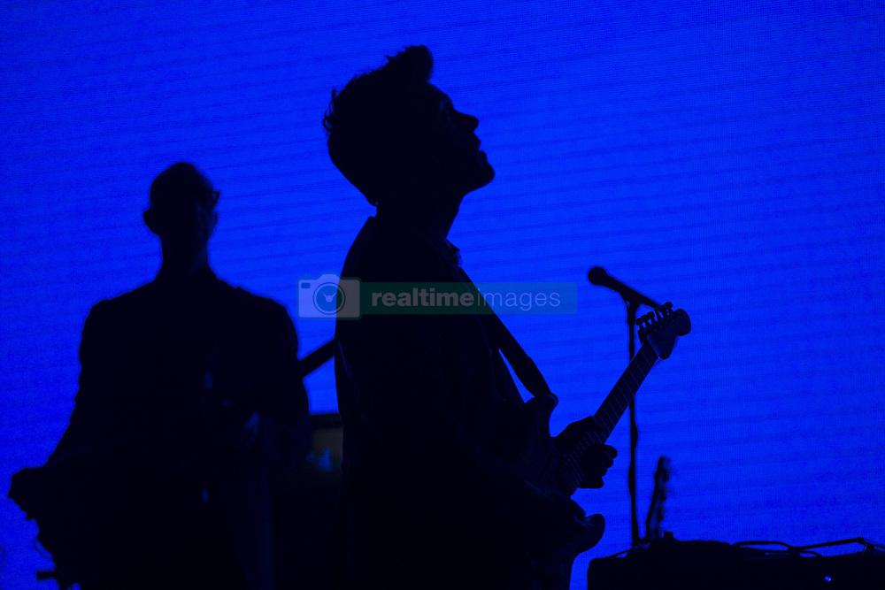 April 3, 2017 - Toronto, Ontario, Canada - TORONTO, ON - APRIL 3  -  John Mayer performs at the Air Canada Centre, Toronto. April 3, 2017. Bernard Weil/Toronto Star  Bernard Weil/Toronto Star (Credit Image: © Bernard Weil/The Toronto Star via ZUMA Wire)