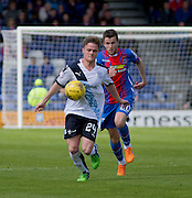 Dundee's Andy Black and Inverness' Liam Polworth  - Inverness Caledonian Thistle  v Dundee, Ladbrokes Scottish Premiership at Caledonian Stadium <br /> <br />  - © David Young - www.davidyoungphoto.co.uk - email: davidyoungphoto@gmail.com