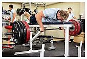 Scottish Rugby Union Training Camp. 4-7-11. Gym