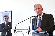 H.E. Mr. Joseph Deiss, President of the UN General Assembly. Interpeace launches the handbook: 'Constitution-making and reform: Options for the Process' a comprehensive resource for national constitution-makers and their advisors. The book release took place at the United Nations on September 9, 2011 in New York. The event was photographed for Interpeace by Jeffrey Holmes, event photographer New York.