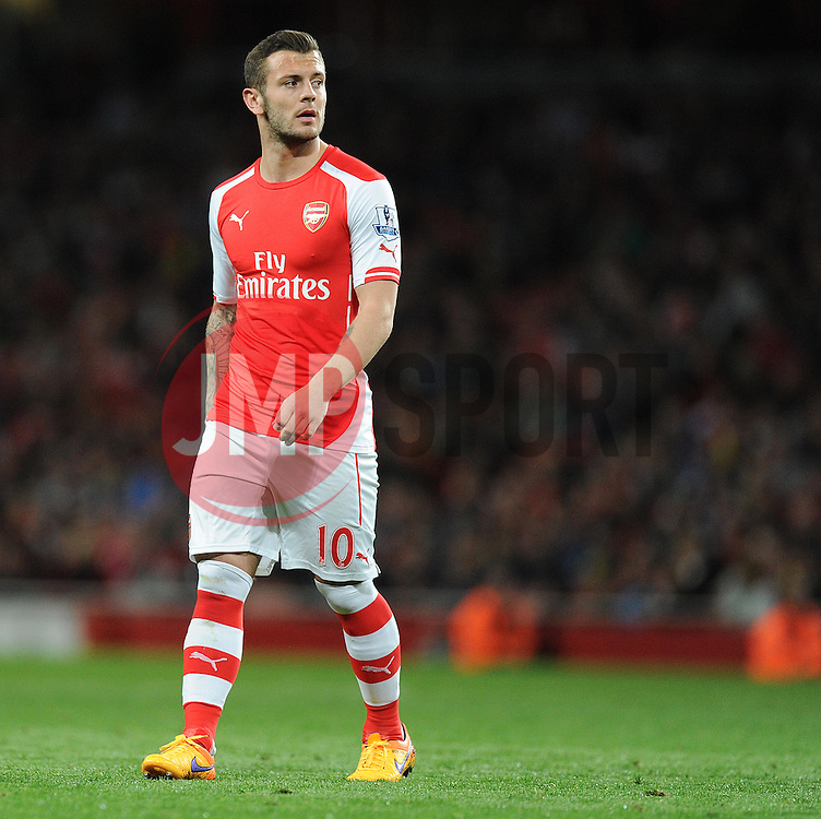 Arsenal's Jack Wilshere - Photo mandatory by-line: Alex James/JMP - Mobile: 07966 386802 - 11/05/2015 - SPORT - Football - London - Emirates Stadium - Arsenal v Swansea City - Barclays Premier League