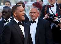 Actor Will Smith at the opening ceremony and Ismael's Ghosts (Les Fantômes D'ismaël) gala screening,  at the 70th Cannes Film Festival Wednesday May 17th 2017, Cannes, France. Photo credit: Doreen Kennedy