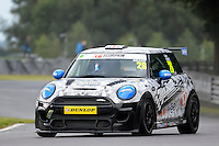 #26 Luke Reade Mini F56 JCW during the MINI Challenge - JCW at Oulton Park, Little Budworth, Cheshire, United Kingdom. August 20 2016. World Copyright Peter Taylor/PSP.
