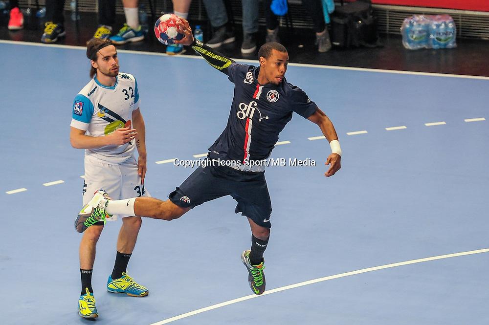Jefrey M Tima / Antoine Conta - 22.04.2015 - PSG / Creteil - 21eme journee de D1<br /> Photo : Andre Ferreira / Icon Sport