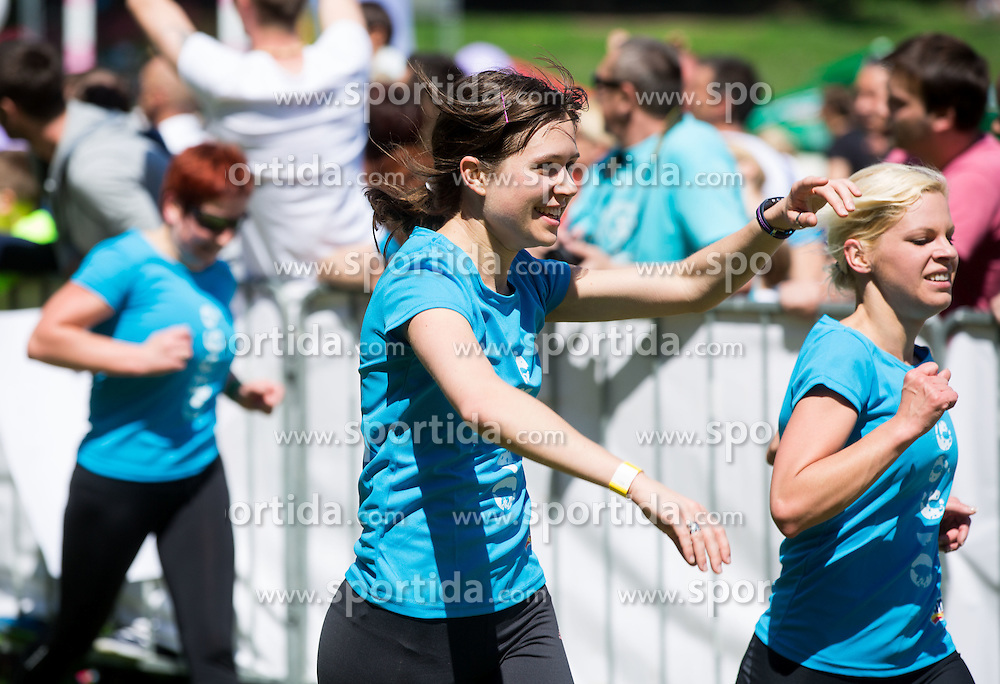 Women during 5km and 10km running race 9. DM Tek za zenske on May 31, 2014 in Tivoli, Ljubljana, Slovenia. Photo by Vid Ponikvar / Sportida