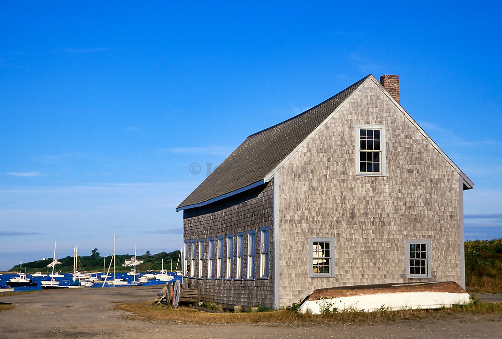 Boat house, Chatham Harbor, Cape Cod
