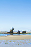 Taft beach in Lincoln City, Oregon.