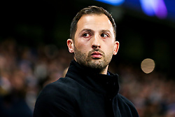 Schalke manager Domenico Tedesco - Mandatory by-line: Robbie Stephenson/JMP - 12/03/2019 - FOOTBALL - Etihad Stadium - Manchester, England - Manchester City v Schalke - UEFA Champions League, Round of 16, 2nd leg
