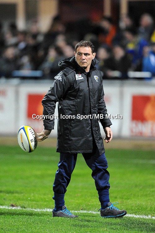 Raphael IBANEZ - 13.03.2015 - Clermont / Begles Bordeaux  -  20eme journee de Top 14<br /> Photo : Jean Paul Thomas  / Icon Sport<br /> <br />   *** Local Caption ***