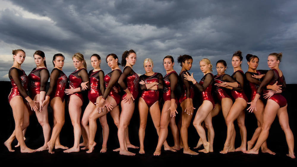 University of Denver gymnastics, 2007.