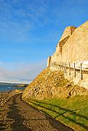 Lindisfarne Castle - Holy Island, Berwick-upon-Tweed, Northumberland, England
