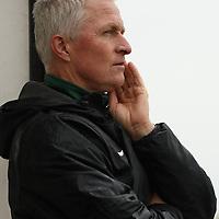 Bob Maltman (7th Season), Head Coach of the Regina Cougars women's soccer team during the Women's Soccer road trip to Saskatoon on October 9 at Griffiths Stadium. Credit: Arthur Ward/Arthur Images