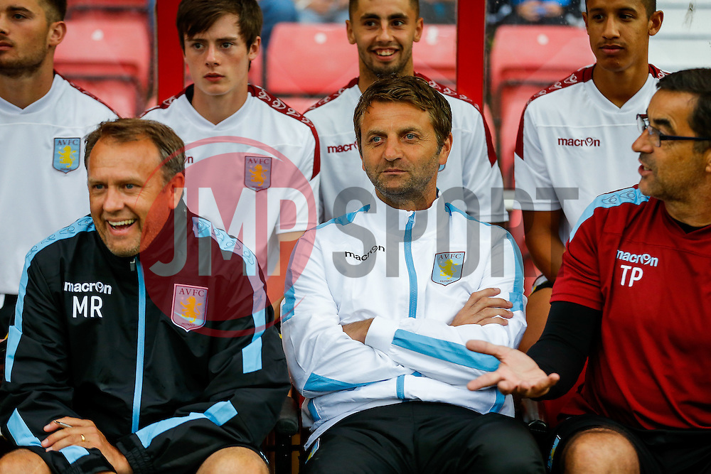 Aston Villa Manager Tim Sherwood - Mandatory byline: Rogan Thomson/JMP - 07966 386802 - 21/07/2015 - SPORT - Football - Swindon, England - The County Ground - Swindon Town v Aston Villa - 2015/16 Pre Season Friendly.
