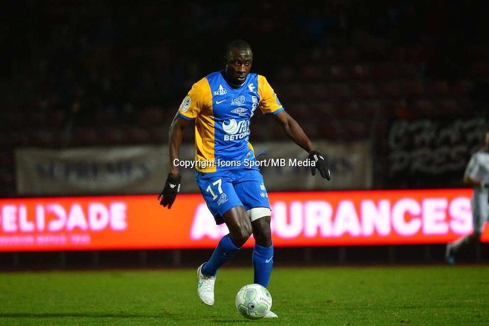 Cheikh NDOYE - 23.01.2015 - Creteil / Laval - 21eme journee de Ligue 2<br /> Photo : Dave Winter / Icon Sport