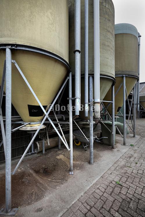 silos for animal feed Holland