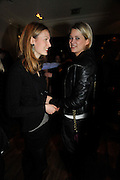 LILI ROSBOCH; ELEANOR BALFOUR, Brompton Bar And Grill - launch party - celeb update<br /> Brompton Bar And Grill, 243 Brompton Road, London, SW3 11 March 2009 *** Local Caption *** -DO NOT ARCHIVE-© Copyright Photograph by Dafydd Jones. 248 Clapham Rd. London SW9 0PZ. Tel 0207 820 0771. www.dafjones.com.<br /> LILI ROSBOCH; ELEANOR BALFOUR, Brompton Bar And Grill - launch party - celeb update<br /> Brompton Bar And Grill, 243 Brompton Road, London, SW3 11 March 2009