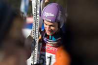 Martin Schmitt (GER) competes in the World Cup Ski Jumping competition at Whistler Olympic Park on Sunday January 25, 2009