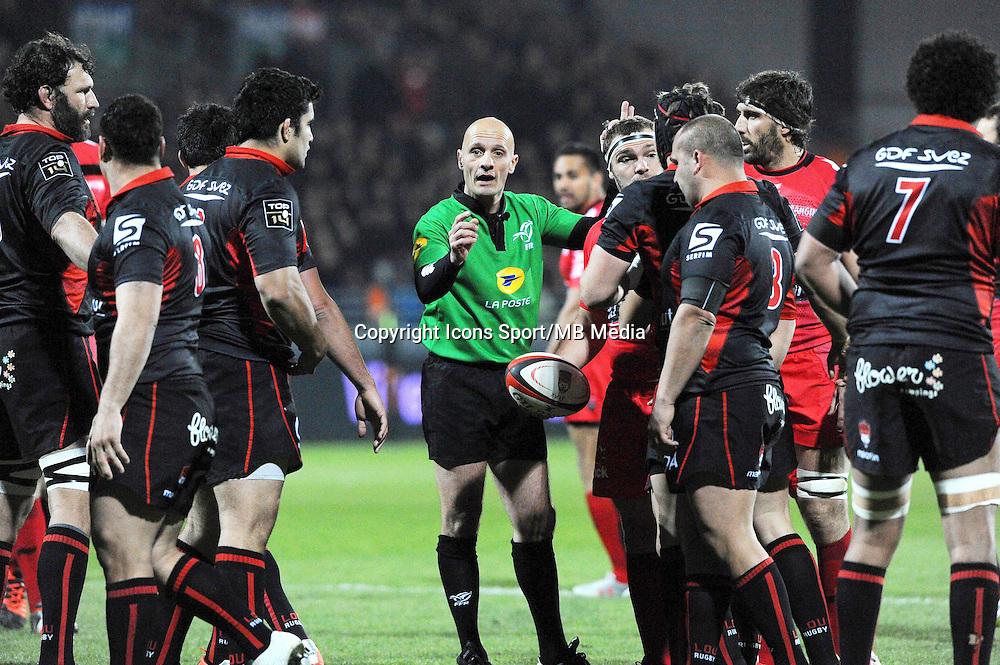Patrick PECHAMBERT - 14.03.2015 - Lyon OU / Toulon -  20eme journee de Top 14<br /> Photo : Jean Paul Thomas  / Icon Sport<br /> <br />   *** Local Caption ***