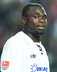 29.04.2011, Fritz-Walter Stadion, Kaiserslautern, GER, 1. FBL, 1.FC Kaiserslautern vs FC St. Pauli, im Bild Gerald Asamoah (St. Pauli #13) nach dem Spiel, EXPA Pictures © 2011, PhotoCredit: EXPA/ nph/  Roth       ****** out of GER / SWE / CRO  / BEL ******