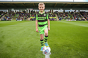 Match day mascot during the EFL Sky Bet League 2 match between Forest Green Rovers and Exeter City at the New Lawn, Forest Green, United Kingdom on 9 September 2017. Photo by Shane Healey.