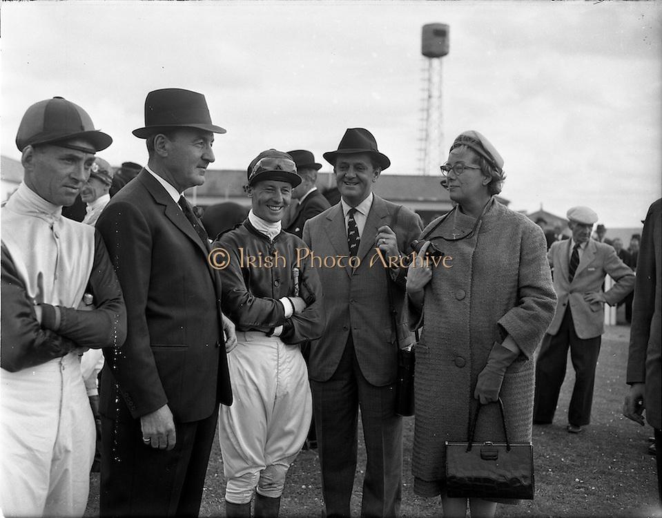 21/06/1961<br /> 06/21/1961<br /> 21 June 1961<br /> Irish Derby at the Curragh Racecourse, Co. Kildare.
