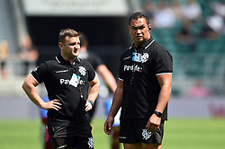 Barbarians Head Coach Pat Lam looks on during the pre-match warm-up - Mandatory byline: Patrick Khachfe/JMP - 07966 386802 - 27/05/2018 - RUGBY UNION - Twickenham Stadium - London, England - England v Barbarians - Quilter Cup