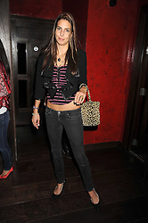 ZARA SIMON at the opening of the Buddha Bar, Victoria Embankment, London on 8th September 2008.<br /> <br /> NON EXCLUSIVE - WORLD RIGHTS