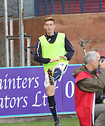 Dundee development squad captain Matty Allan was on the bench for Dundee - Dundee v Abderdeen, SPFL Premiership at Dens Park<br /> <br />  - &copy; David Young - www.davidyoungphoto.co.uk - email: davidyoungphoto@gmail.com