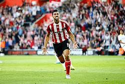 Goal, Graziano Pelle of Southampton scores, Southampton 1-0 Vitesse Arnhem - Mandatory by-line: Jason Brown/JMP - Mobile 07966386802 - 31/07/2015 - SPORT - FOOTBALL - Southampton, St Mary's Stadium - Southampton v Vitesse Arnhem - Europa League