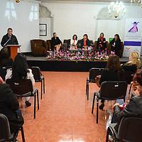 """Toluca, México.- Rodrigo Sampeiro Delgado, Delegado estatal de Jovenes en Movimiento del Estado de México, durante la inauguracion del ciclo de conferencias """"Mujeres Jóvenes en Movimiento, Exito y Abundancia. Agencia MVT / Arturo Hernández."""
