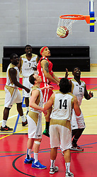 Bristol Academy Flyers' Greg Streete scores - Photo mandatory by-line: Dougie Allward/JMP - Tel: Mobile: 07966 386802 23/03/2013 - SPORT - Basketball - WISE Basketball Arena - SGS College - Bristol -  Bristol Academy Flyers V Essex Leopards