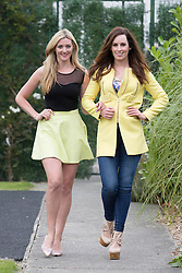 Repro Free: 15/09/2014 <br /> enny Dixon (Kerri-Ann Boyle) and Aoibheann McCaul (Caoimhe Dillon) are pictured on the set of Fair City to celebrate its 25th anniversary and pay tribute to Ireland&rsquo;s most popular and longest running soap. Picture Andres Poveda