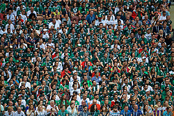 MOSCOW, RUSSIA - Sunday, June 17, 2018: Mexico supporters during the FIFA World Cup Russia 2018 Group F match between Germany and Mexico at the Luzhniki Stadium. (Pic by David Rawcliffe/Propaganda)