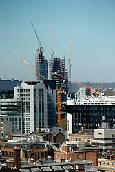 UK ENGLAND LONDON 21APR15 - View of the London skline from 201 Bishopsgate, Liverpool Street, City of London.<br /> <br /> <br /> <br /> jre/Photo by Jiri Rezac<br /> <br /> <br /> <br /> &copy; Jiri Rezac 2015
