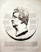 Rouget de Lisle (1760-1836, lithograph by Angers. Rouget de Lise wrote the words of La Marseillaise in April 1792. The melody may be derived from a set of variations written by Viotti in 1784. Alexandre Boucher, the violinist and admirer of Beethoven, may also have been involved in composing the music.