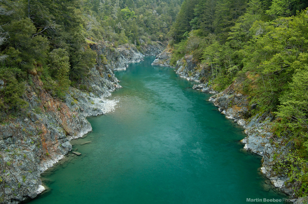 South Fork Smith River, Smith River National Recreation Area, Six Rivers National Forest, California
