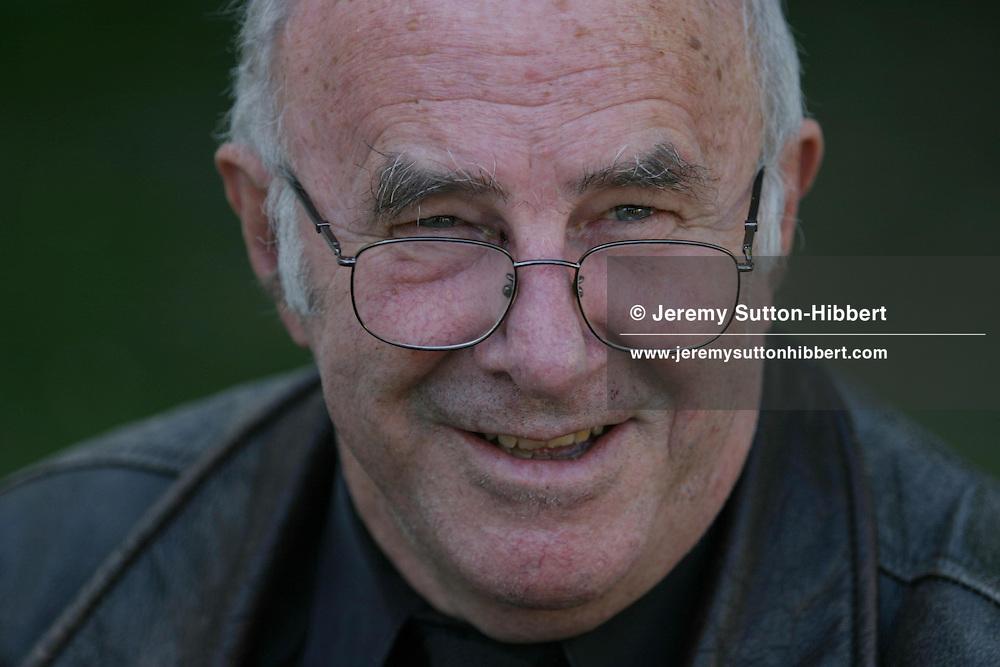 Clive James, author, broadcaster...Edinburgh International Book Festival 2003..Edinburgh, Scotland.