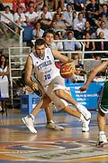 DESCRIZIONE : Alicante Spagna Spain Eurobasket Men 2007 Italia Slovenia Italy Slovenia <br /> GIOCATORE : Andrea Bargnani <br /> SQUADRA : Nazionale Italia Uomini Italy <br /> EVENTO : Eurobasket Men 2007 Campionati Europei Uomini 2007 <br /> GARA : Italia Slovenia Italy Slovenia <br /> DATA : 03/09/2007 <br /> CATEGORIA : Penetrazione <br /> SPORT : Pallacanestro <br /> AUTORE : Ciamillo&amp;Castoria/Fiba <br /> Galleria : Eurobasket Men 2007 <br /> Fotonotizia : Alicante Spagna Spain Eurobasket Men 2007 Italia Slovenia Italy Slovenia <br /> Predefinita :