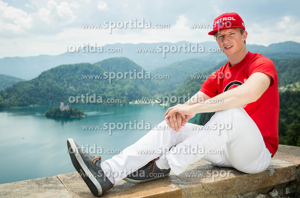 Klemen Kosi, alpine ski during Sponsorship event for athletes sponsored by Petrol ®,  on June 3, 2015 in Bled's Castle,  Slovenia. Photo by Vid Ponikvar / Sportida