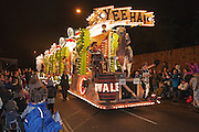Yee Hah by SId Vale Carnival Club in 2011. Bridgwater Carnival is an annual event to raise money for local charities. It is widely reputed to be the largest illuminated carnival in the world.