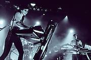 LIGHTS performing live at The Regency Ballroom concert venue in San Francisco, CA on November 13, 2014