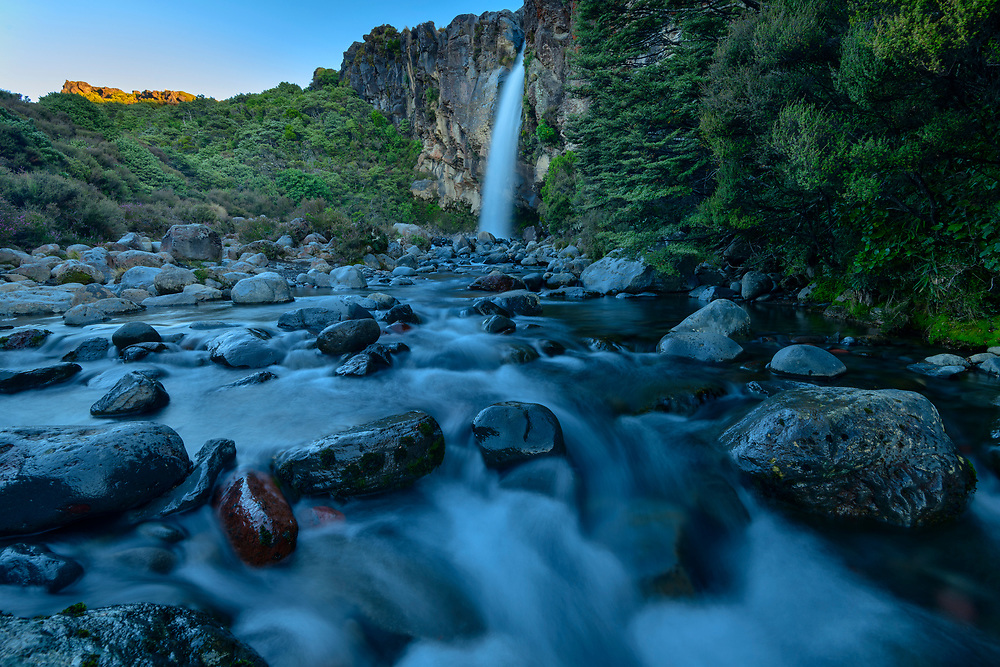 Oceania, New Zealand, Aotearoa, North Island, Tongariro ,National Park, Taranaki Falls,