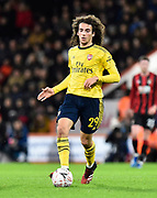 Matteo Guendouzi (29) of Arsenal on the attack during the The FA Cup match between Bournemouth and Arsenal at the Vitality Stadium, Bournemouth, England on 27 January 2020.