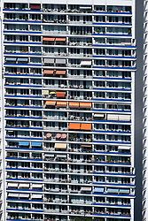 High Rise apartment building in Berlin , Mitte, Berlin, Germany