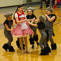 2-8-14 Halftime Dancers (2nd) BHS vs Farmington