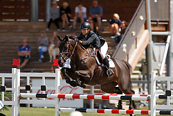 Jimenez-Carmona Gonzales Paloma, ESP, Sherie Star<br /> Young Riders European Championships Jumping <br /> Samorin 2017© Hippo Foto - Dirk Caremans<br /> 13/08/2017,