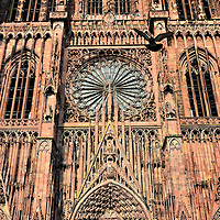 Strasbourg Cathedral Main Portal in Strasbourg, France<br />