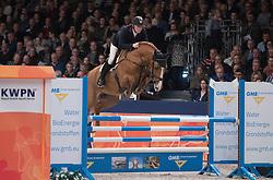 De Boer Lennard, NED, Hampshire VDL<br /> Springen Klasse L<br /> KWPN Hengstenkeuring 2017<br /> © Dirk Caremans<br /> 02/02/17