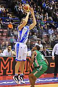DESCRIZIONE : Milano Final Eight Coppa Italia 2014 Semifinale Dinamo Banco di Sardegna Sassari - Grissin Bon Reggio Emilia<br /> GIOCATORE : Manuel Vanuzzo<br /> CATEGORIA : Tiro Tre Punti<br /> SQUADRA : <br /> EVENTO : Final Eight Coppa Italia 2014 Milano<br /> GARA : Dinamo Banco di Sardegna Sassari - Grissin Bon Reggio Emilia<br /> DATA : 08/02/2014<br /> SPORT : Pallacanestro <br /> AUTORE : Agenzia Ciamillo-Castoria / Luigi Canu<br /> Galleria : Final Eight Coppa Italia 2014 Milano<br /> Fotonotizia : Milano Final Eight Coppa Italia 2014 Semifinale Dinamo Banco di Sardegna Sassari - Grissin Bon Reggio Emilia<br /> Predefinita :